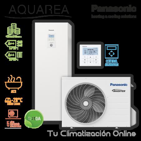 Aerotermia Panasonic Aquarea High Performance ALL IN ONE KIT-ADC03HE5-CL