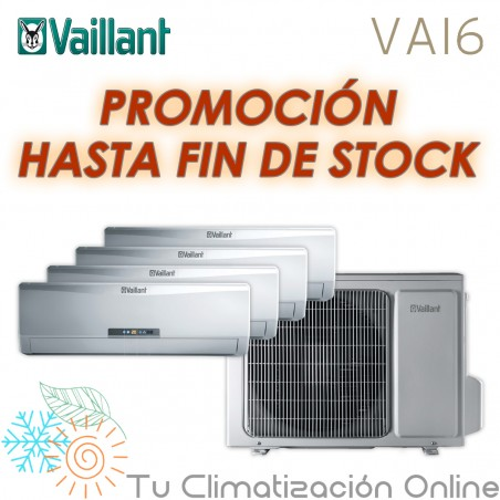 MULTISPLIT 4X1 VAILLANT VAM6-085 W4N
