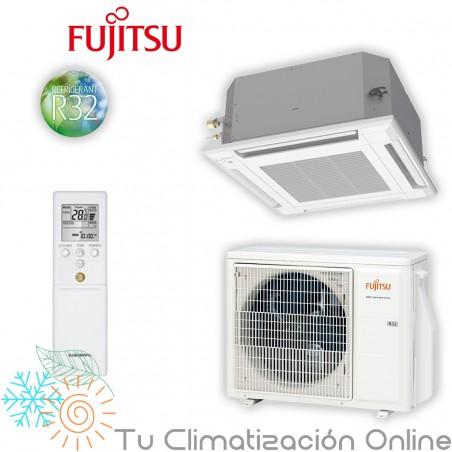 Aire Acondicionado Cassette Fujitsu AUY50-KV compacto
