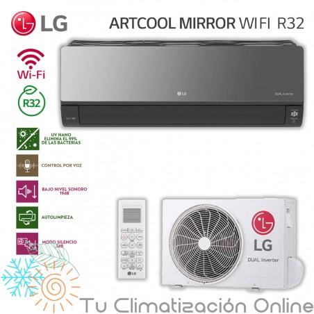 Aire Acondicionado LG ARTCOOL AC012BH.NSJ