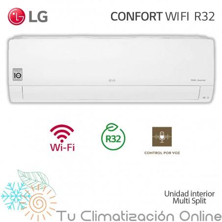 Unidad Interior Aire Acondicionado multisplit LG CONFORT WIFI PC12SQ