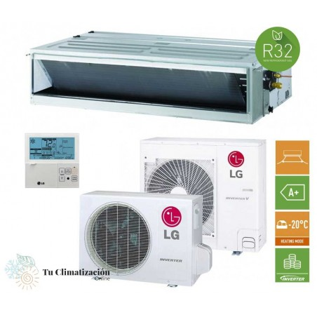 Aire Acondicionado por Conductos LG Confort CM24F