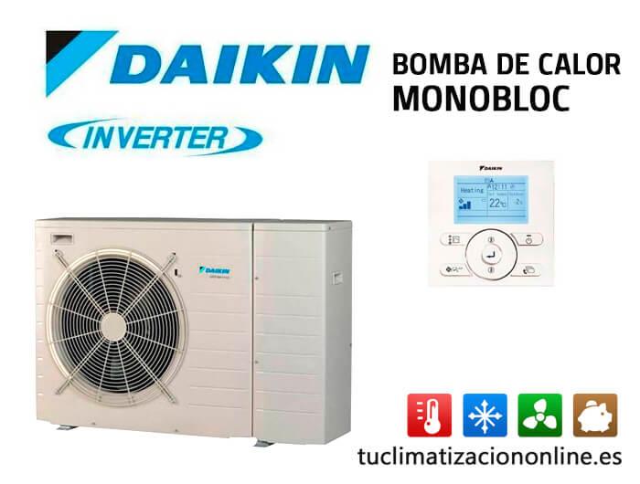 bomba de calor Daikin monobloc