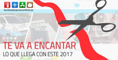 Nueva web Tu Climatización Online