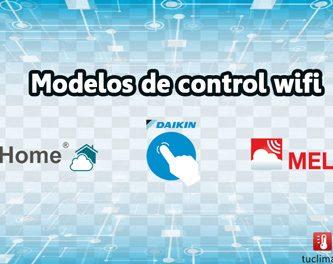 modelos de control wifi