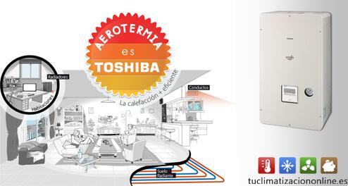 Aerotermia Toshiba Estía