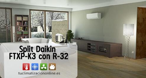 split daikin FTXP-K3 con r-32