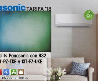 split Panasonic con R32