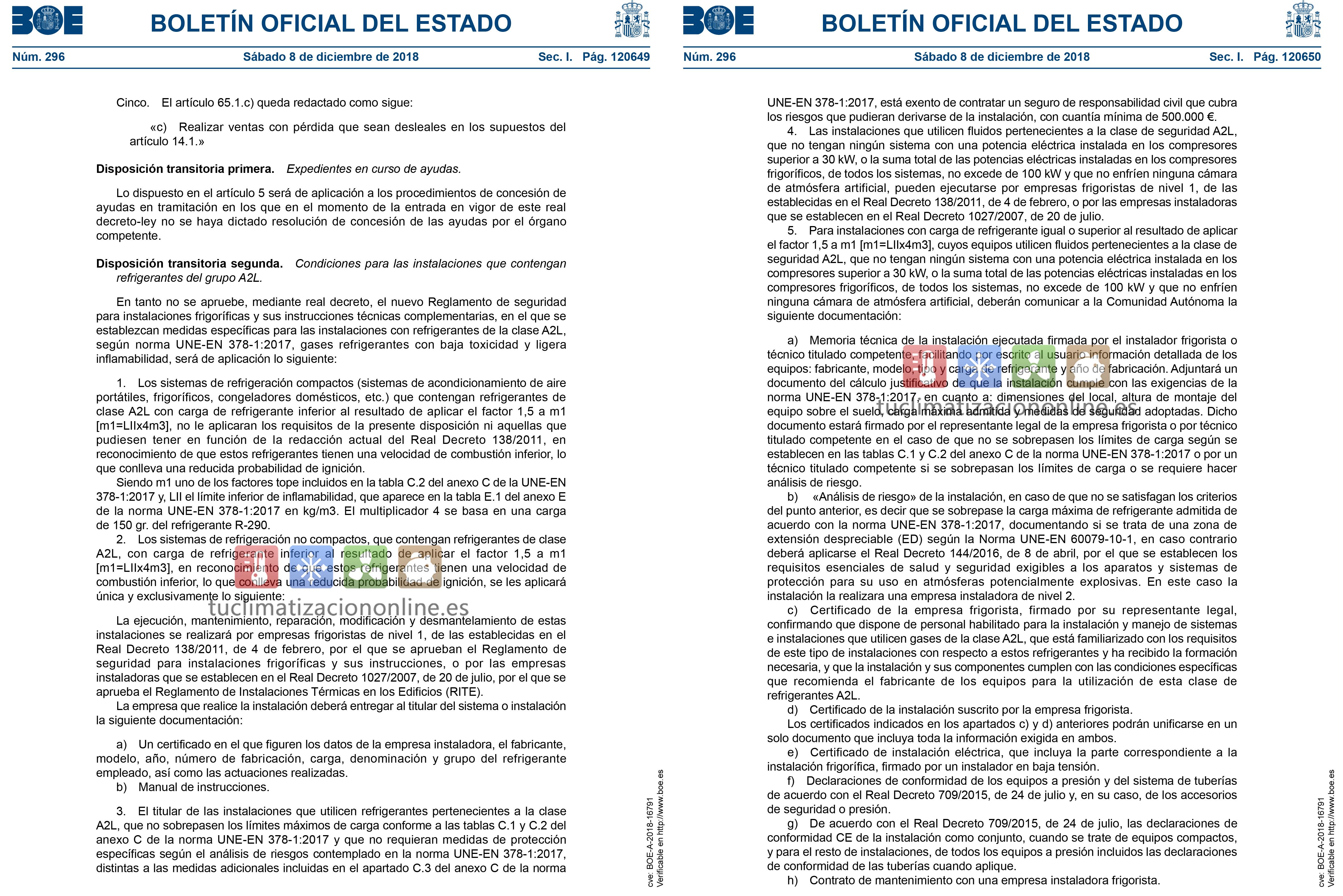 normativa-r32-BOE-tu-climatizacion-online