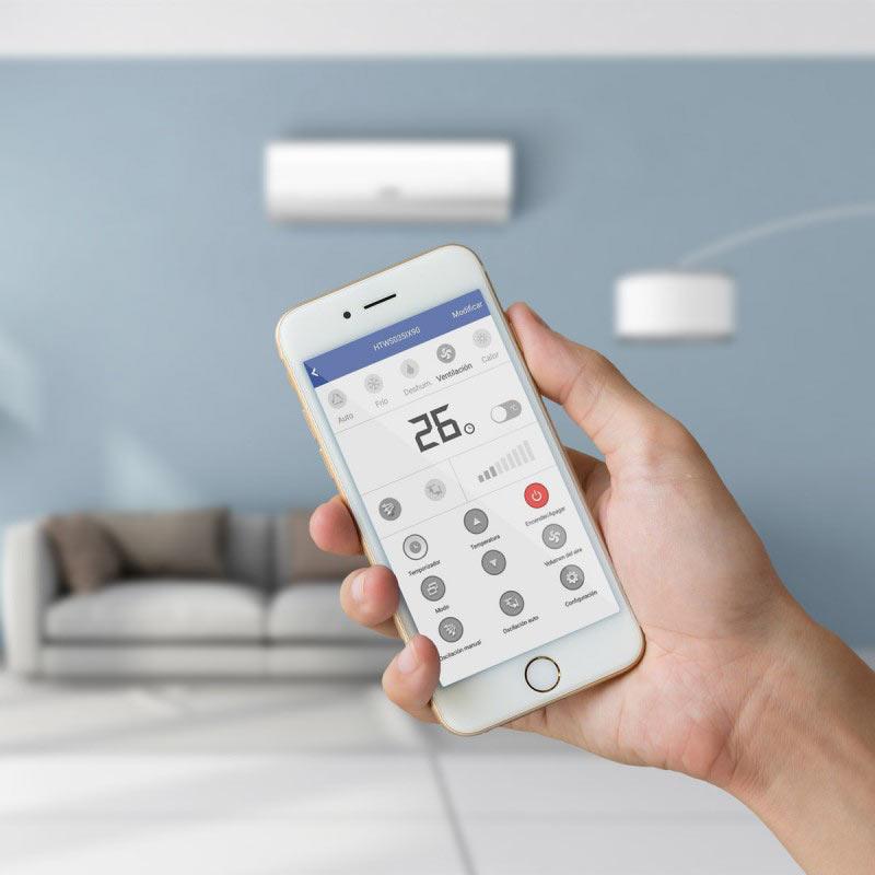 controla la climatizacion de tu hogar desde el telefono movil gracias a la app htw