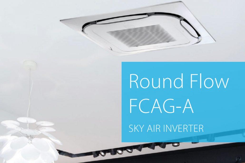 unidad interiori SKY AIR Cassette Daikin - Round Flow FCAG-A tu climatizacion online novedades tarifas de precios daikin 2019