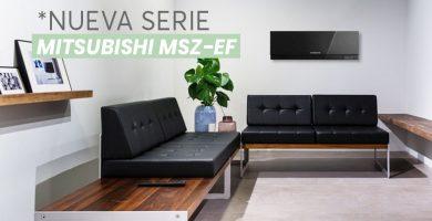 nueva serie mitsubishi msz-ef