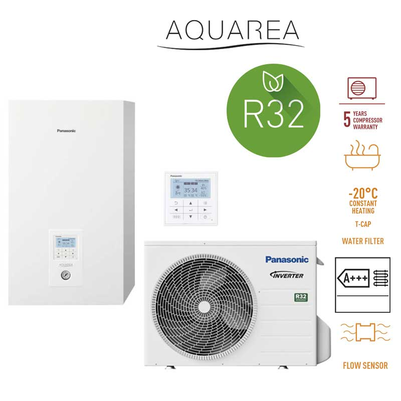 Panasonic Aquarea Generación J HIGH PERFORMANCE BIBLOC kit-adc03je5